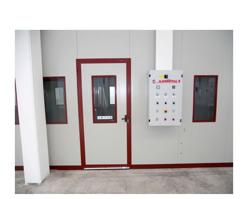 Pressurized spray booths Ardesia D