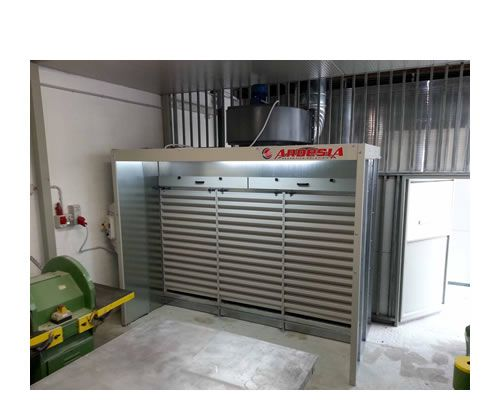Dust extraction booth Aspire