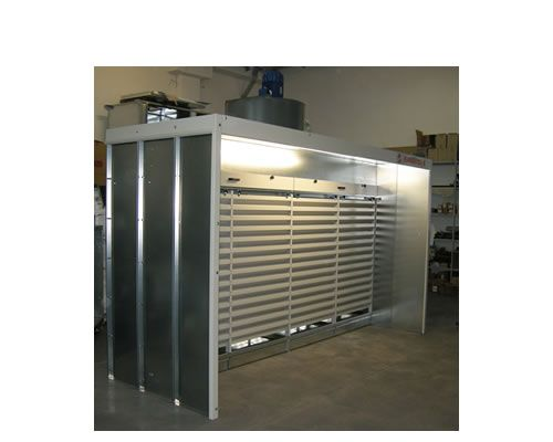 Dust extraction booths Aspire