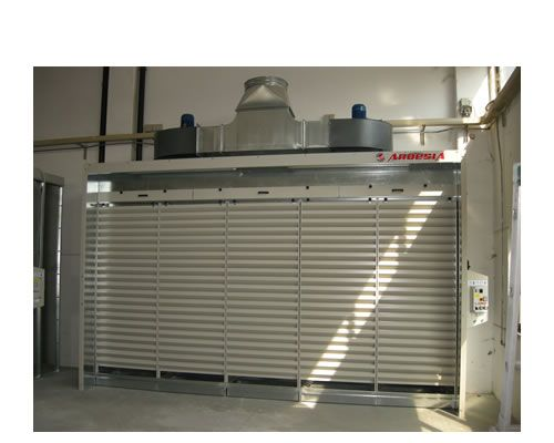 Dust extraction cabins Aspire