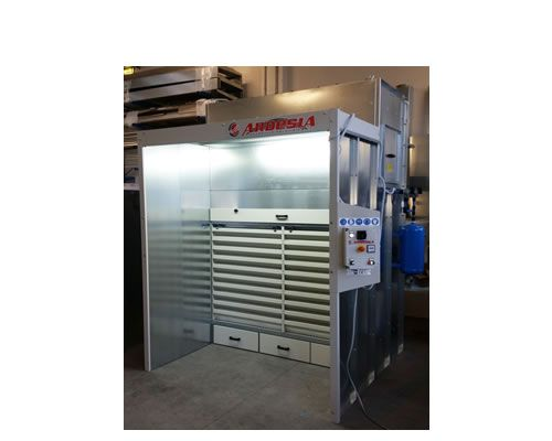 Dust extraction booth system Dust Power