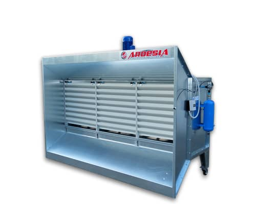 Dust extraction booths Dust Roller