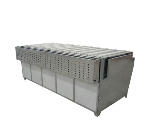Powder suction benches Dust Table E