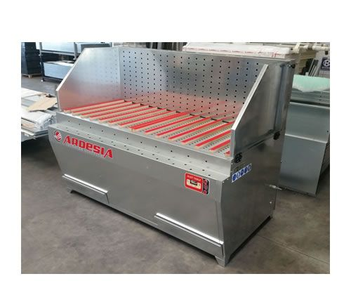 Powder suction bench Dust Table E