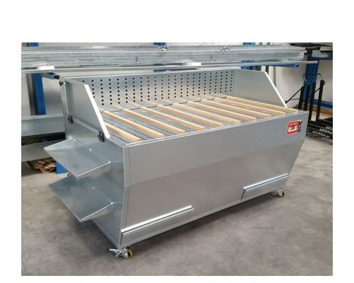 Dust suction benches Dust Table M