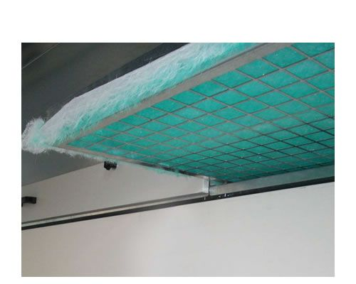 Water veil painting systems Level