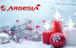 Ardesia Christmas closure painting systems production