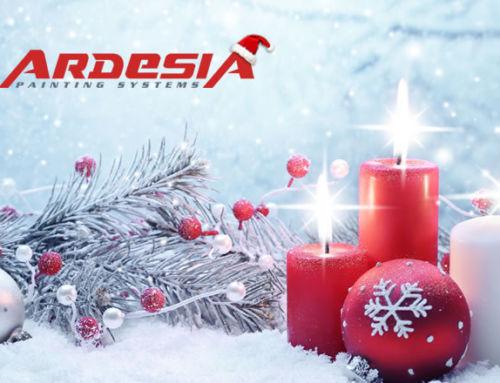 ARDESIA Christmas holidays closing
