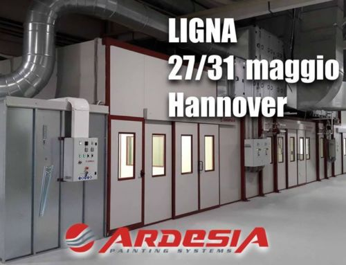 LIGNA 2019 Fair at Hannover Messe in Germany