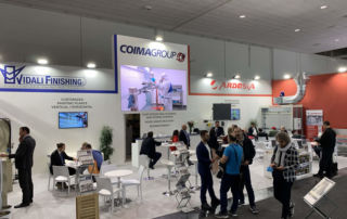 Ardesia in Ligna 2019 together with Coima and Vidali Finishing