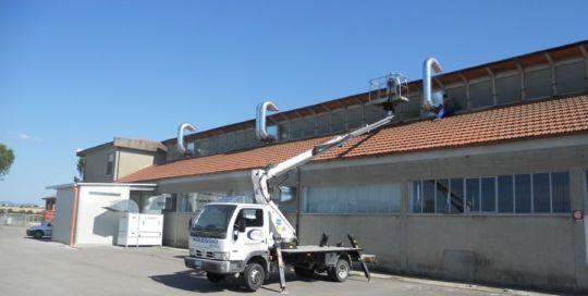 Le Cucine dei Mastri painting plant (Arezzo, Italy) - Ardesia projects