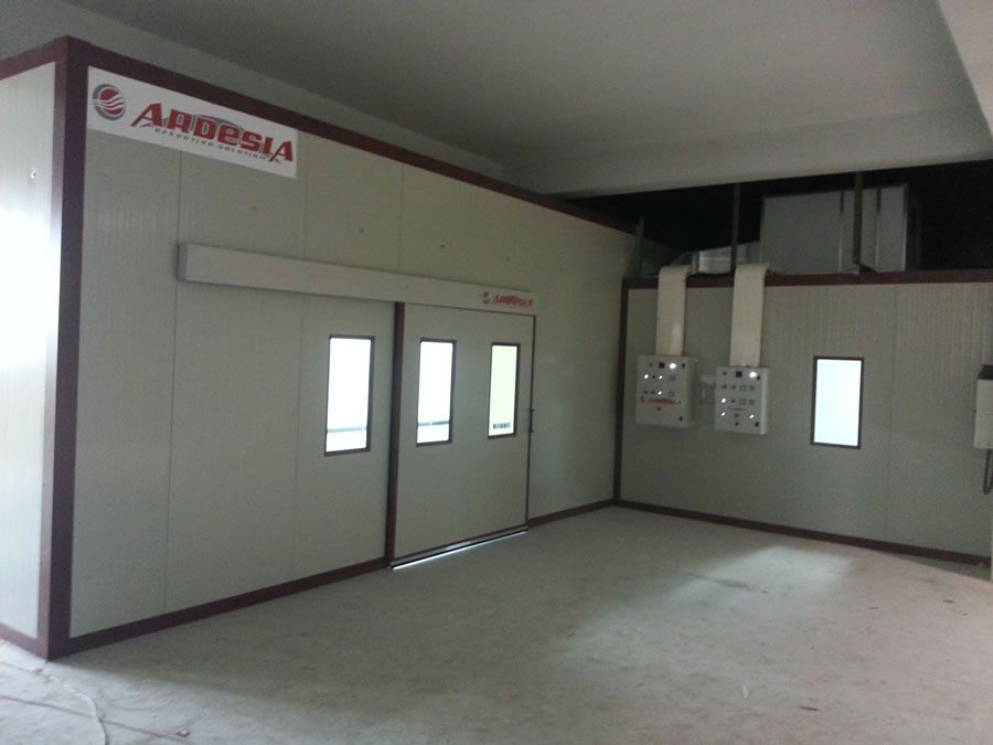 Fortuna painting plant (Tajikistan) - Ardesia projects