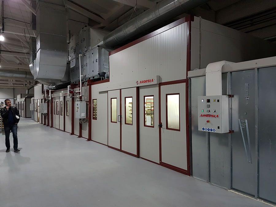 DMI Dyatkovo painting plant (Russia) - Ardesia projects