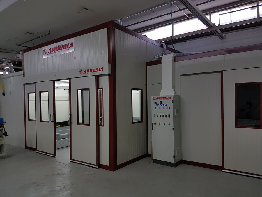 Formex painting plant (Israel) - Ardesia projects