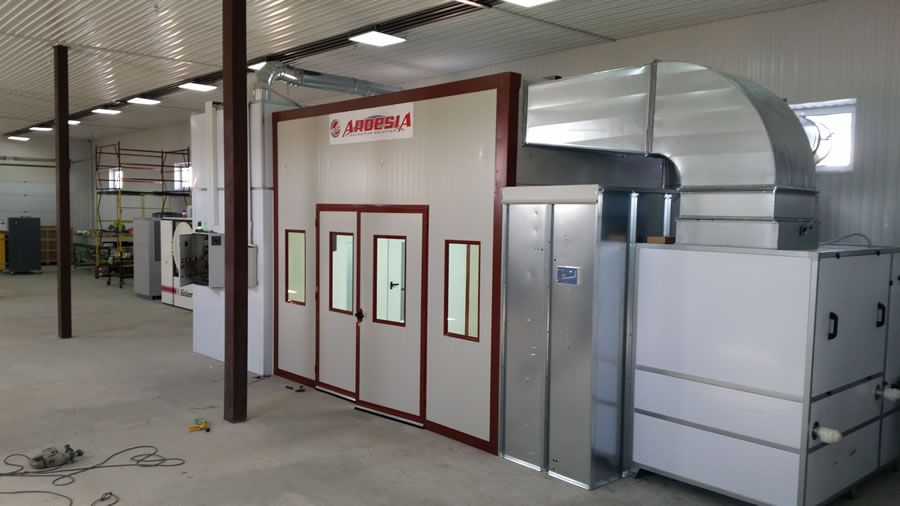 Zoom painting plant (Kazakhstan) - Ardesia projects